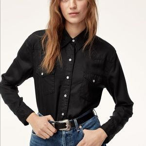 Wilfred free Oliveria blouse size medium